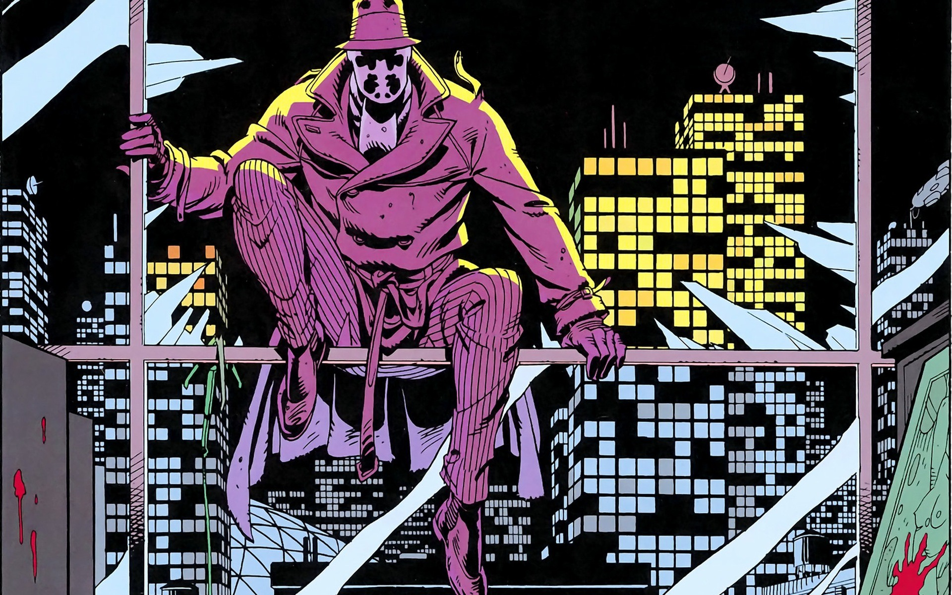 a character analysis of rorschach in the book watchmen by alan moore and dave gibbon Book summary: the title of this book is watchmen and it was written by alan moore, dave gibbons (illustrator) this particular edition is in a hardcover format this particular edition is in a hardcover format.